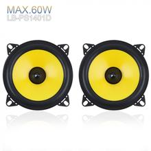 LABO 2pcs 4 inch 2-Way Car Speaker 60W Full Range Frequency Audio auto sound Stereo Automobile Loudspeaker