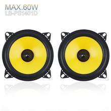 LABO 2pcs 4 inch 2-Way Car Speaker 60W Full Range Frequency