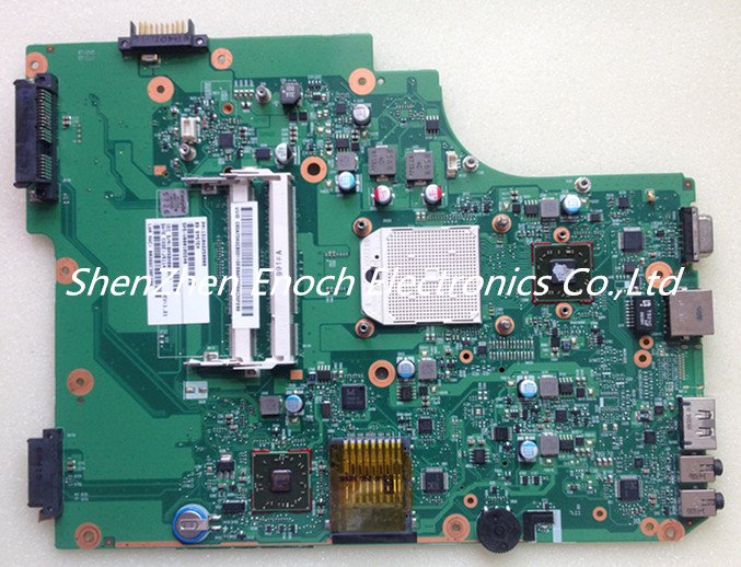 For Toshiba satellite L505 L505D Laptop motherboard Integrated V000185540 6050A2250801-MB-A04  stock No.999