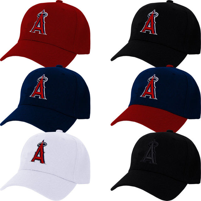 30f770764 US $9.98 |Los Angeles Angels Cap Hat of Anaheim Embroidered LA Adjustable  Curved snapback baseball cap men women-in Baseball Caps from Apparel ...