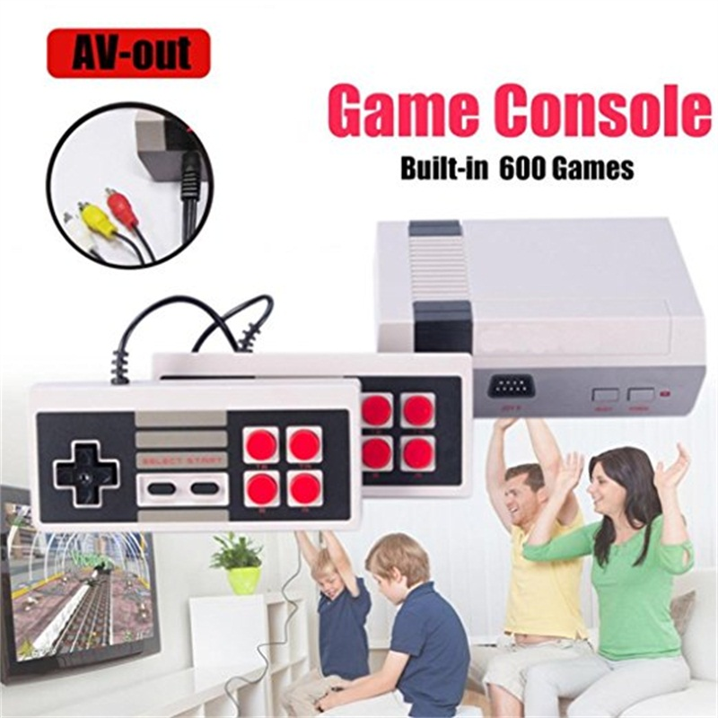 все цены на 8 bit Mini Family TV Game Console NEW Retro Classic video Consoles Built-in 500 Childhood Classic Games for nes for childhood