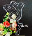 free shipping SP18 flower pegboards patterns for hama beads perler beads DIY educational toy