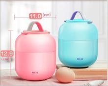 Tasse Thermoskanne Für Lebensmittel Mit Container Bento Box Isoliert Thermische Lunchbox Suppe Becher Behälter für Kinder