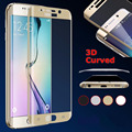 Full Cover Tempered Glass Curved Screen Protector Samsung Galaxy S6 Edge & Plus