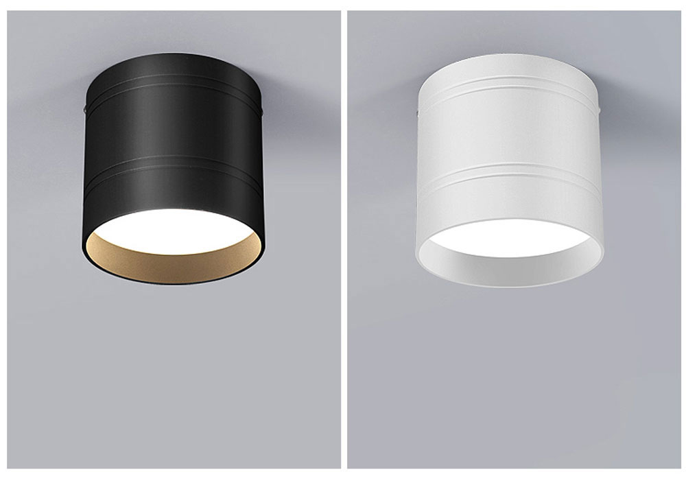 HTB1GvG XzDuK1Rjy1zjq6zraFXaR Dimmable LED Ceiling light down light 18W 15W 9W 6W No opening Ceiling lamps for kitchen,balcony,library,bathroom,shop,Office