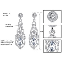 Clear Crystal Bridal Jewelry Sets