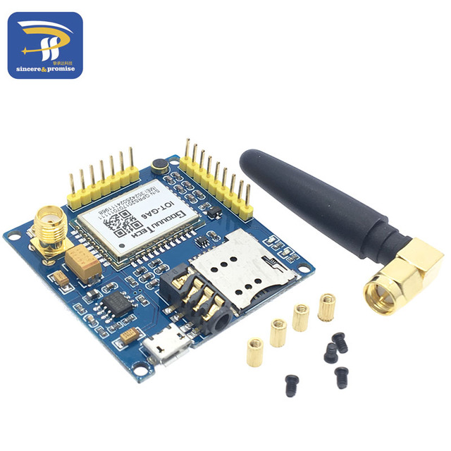 US $6 0 |GPRS A6 module, text messages, development board GA6 GSM GPRS  wireless data transmission of super SIM900A-in Integrated Circuits from