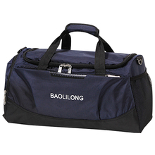 Women #8217 s Oxford Travel Bags Waterproof Big Luggage Bag Women Weekend Duffle Bag Female Hand Luggage For Women T741 cheap Fashion zipper Letter Travel Duffle Soft 27cm 50cm 0 67kg 24cm nylon Versatile IMOK