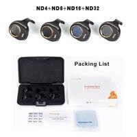 Snap on Filters Set 4Pcs ND4 8 16 32 Lens Filter Kit for DJI SPARK Drone