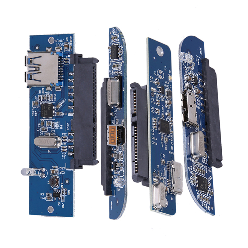 5 GBps vitesse de Transmission USB 3.0 à 2.5 SATA 7 + 15Pin adaptateur de disque dur pour SATA 3.0 SSD & HDD support Maximum disque dur 3 To