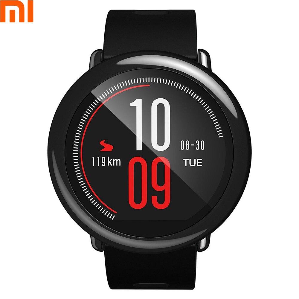 Английская версия Оригинальный Xiaomi Huami AMAZFIT темп gps Смарт Часы сердечного ритма мониторы 300x320 pixe Smartwatch для Xiami 6 6x