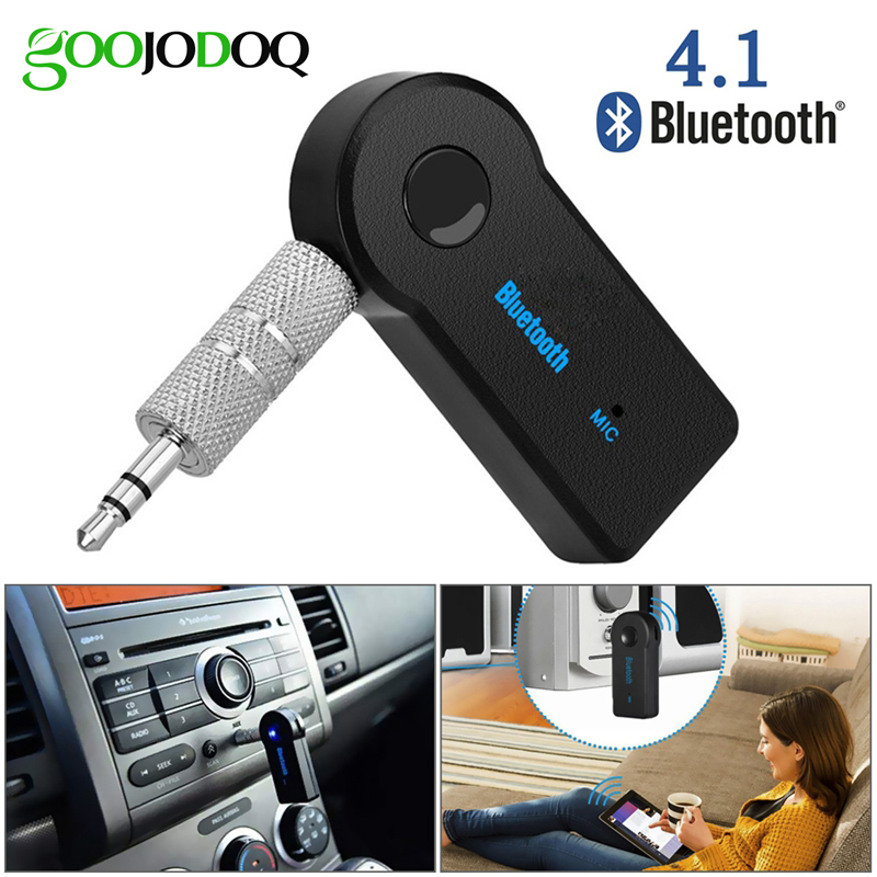 Bluetooth Wireless for Car Music Audio Stereo 3.5mm Bluetooth Receiver Adapter Aux For Headphone Reciever Jack Handsfree-in USB Bluetooth Adapters/Dongles from Computer & Office