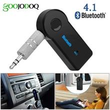 Bluetooth sem fio para a música do carro áudio estéreo 3.5mm adaptador receptor bluetooth aux para fone de ouvido receptor jack handsfree
