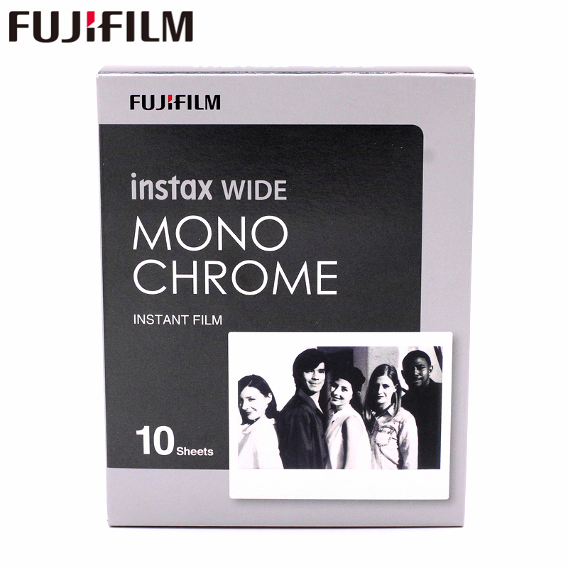 10 Feuilles Fujifilm Instax Large Monochrome 10 Photo Protecteur Pour fuji Instax 300 200 210 Appareil Photo Instantané