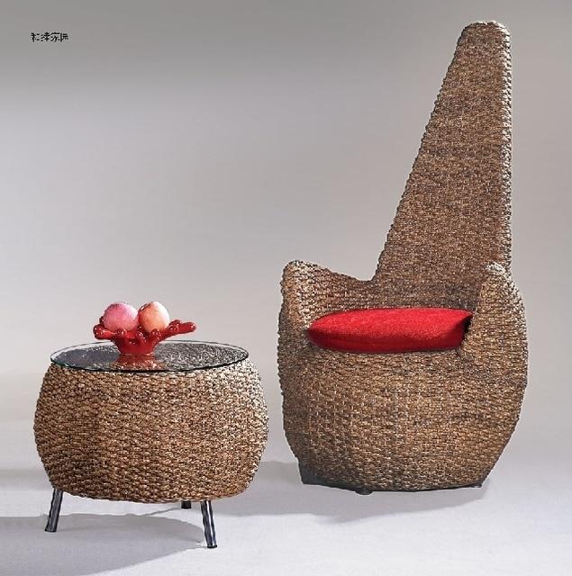 Rattan Furniture Rattan Lounge Chair Coffee Table Combination Balcony Rattan  Sofa Beanbag Chair Rattan Wicker Chair