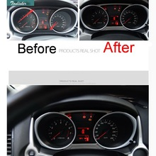 цена на 2 PCS Car DIY NEW stainless steel dashboard decorative light strip cover case for 2013-15 new Mitsubishi ASX part accessories