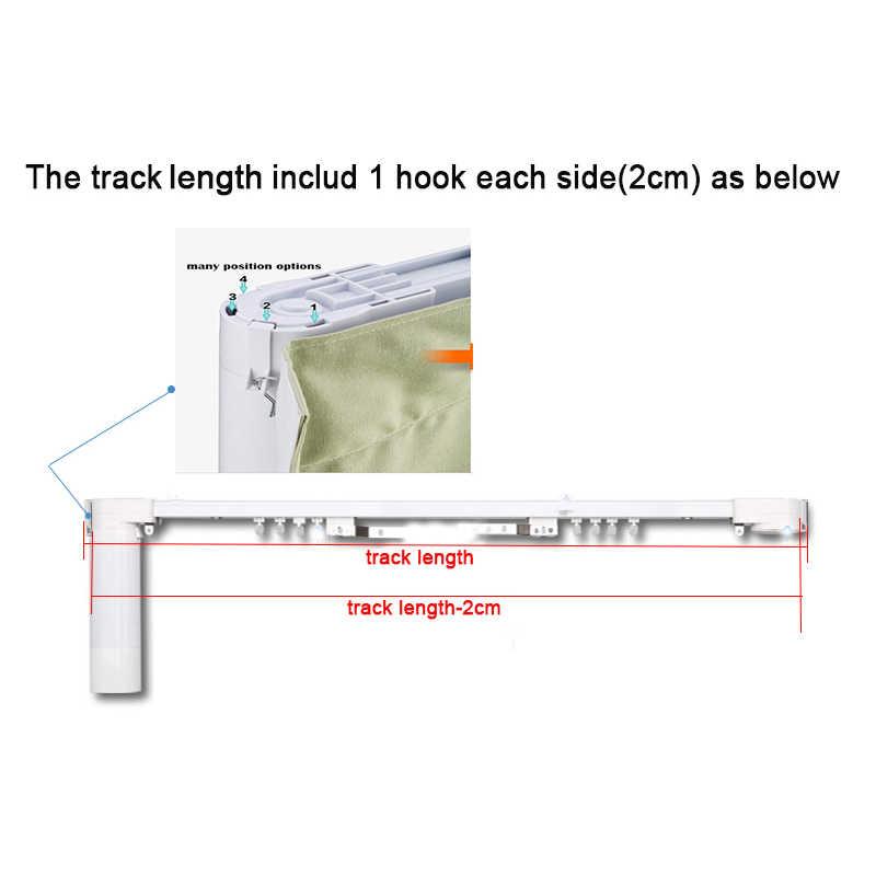 Free shipping 100-160 degree corner no bent silent quality Dooya S track DOOYA motor DT82/KT82 XIAOMI AQARA motorized curtain
