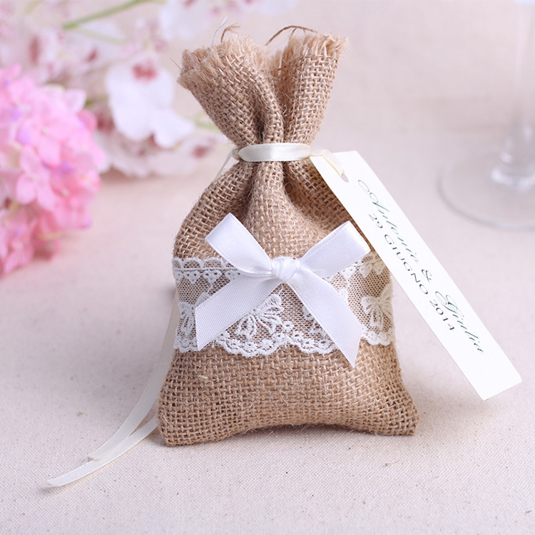 Free shipping 500pcs rustic burlap sack wedding favor bags candy free shipping 500pcs rustic burlap sack wedding favor bags candy pouches with drawsrtings jewelry coin gift beads money in gift bags wrapping supplies solutioingenieria Image collections