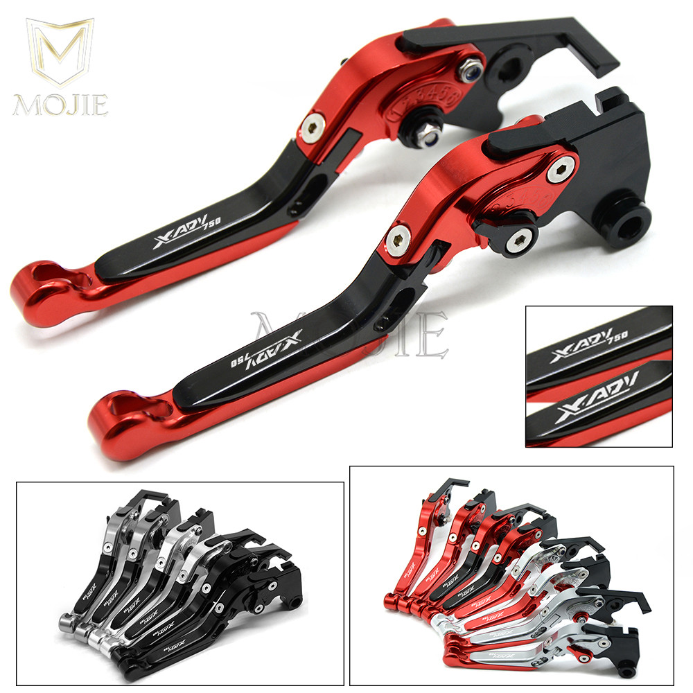 With Laser Logo Motorcycle Accessories CNC Aluminum Brake Clutch Levers For Honda XADV 750 X-ADV X ADV 750 2017 2018 Levers Set