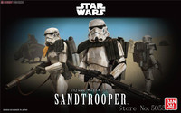 Bandai Star War 1/12 Imperial Stormtrooper Sandtrooper Assembly Action Figure Model Kits