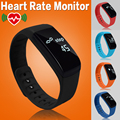 New Heart Rate Monitor Smart Band Bluetooth Bracelet Pedometer Fitness Tracker Smartband Remote Camera Wristband For Android iOS