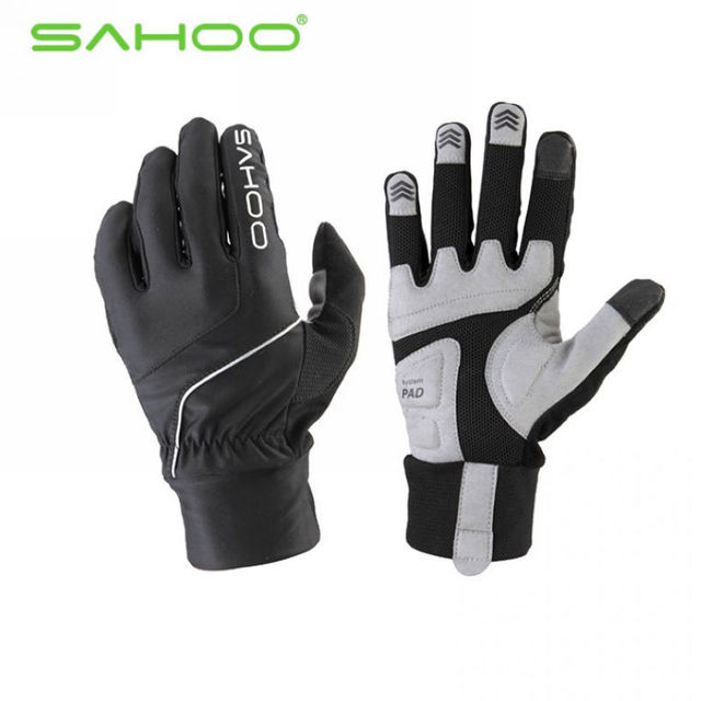 Super nouveau!! SAHOO gants de cyclisme, sortie de course gants de doigt complet, gants de protection de vélo 4 couleurs taille M/L/XL en gros
