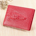 Genuine Leather Bag Real Sale 2015 Year Women's Alligator Card Id Credit Holders Genuine Leather Holder For Driving Licence 2