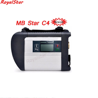 high quality obd2 device MB STAR C4 with V2018.07 HDD diagnostic scanner with D630 PC Mb star C4 for car/ truck ready to use