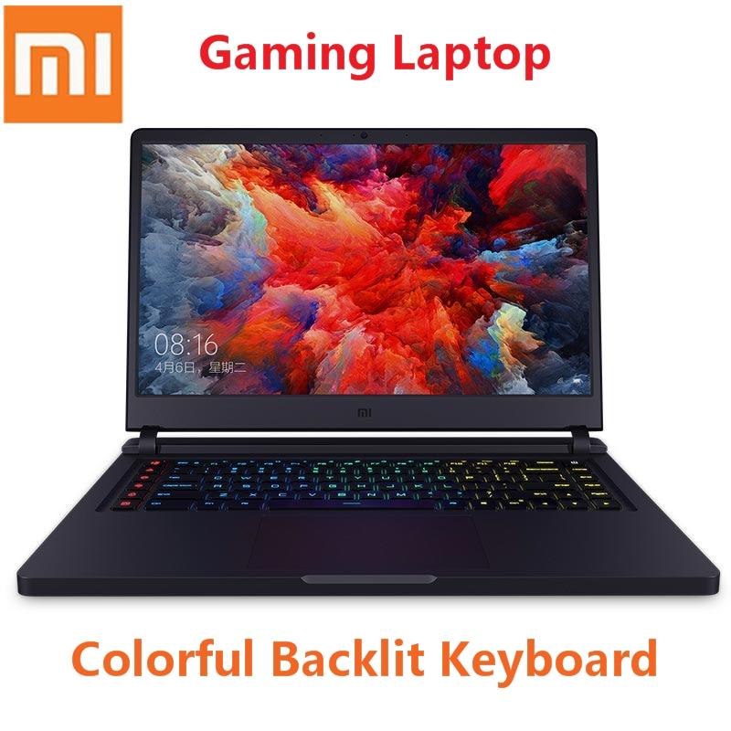 Xiaomi Mi Gaming Laptop 15.6 Inch Backlit Win10 Intel Core I7-8750H Hexa Core 2.2 - 4.1GHz GTX1060 16GB + 512GB 4 USB 3.0 PC