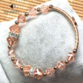crystal bracelets for women fashion super sweet women bracelet wholesale retail (10)3A610-8 17cm