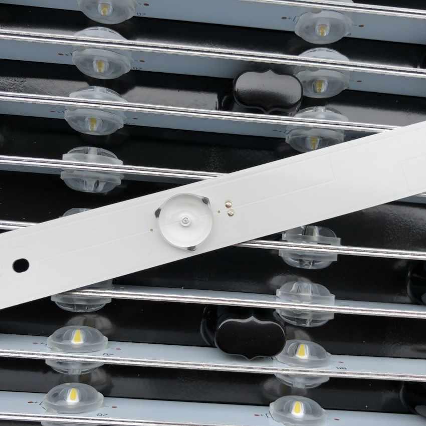 32 بوصة 26 بوصة-42 بوصة التلفزيون تلفاز LCD LED عدسة مستقيم أسفل شريط مصابيح الألومنيوم الركيزة 5 مصباح العام حامل مصباح