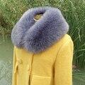 winter fur collar faux fox fur scarf raccoon fur collar winter coat decoration multi color to choose soft faux fox scarf
