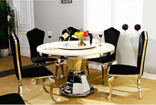 Dining Room Set Home Furniture minimalist modern glass
