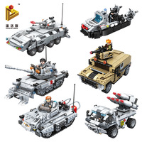 Fun Children S Toy Blocks Compatible With Legoes Tanks Armored Cars Models Children S Intellectual Toys
