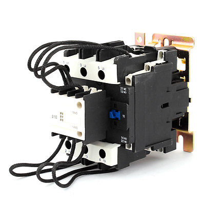 цена на 220V 50/60Hz Coil Motor Control 3Phase 2NO+1NC Changeover Capacitor Contactor