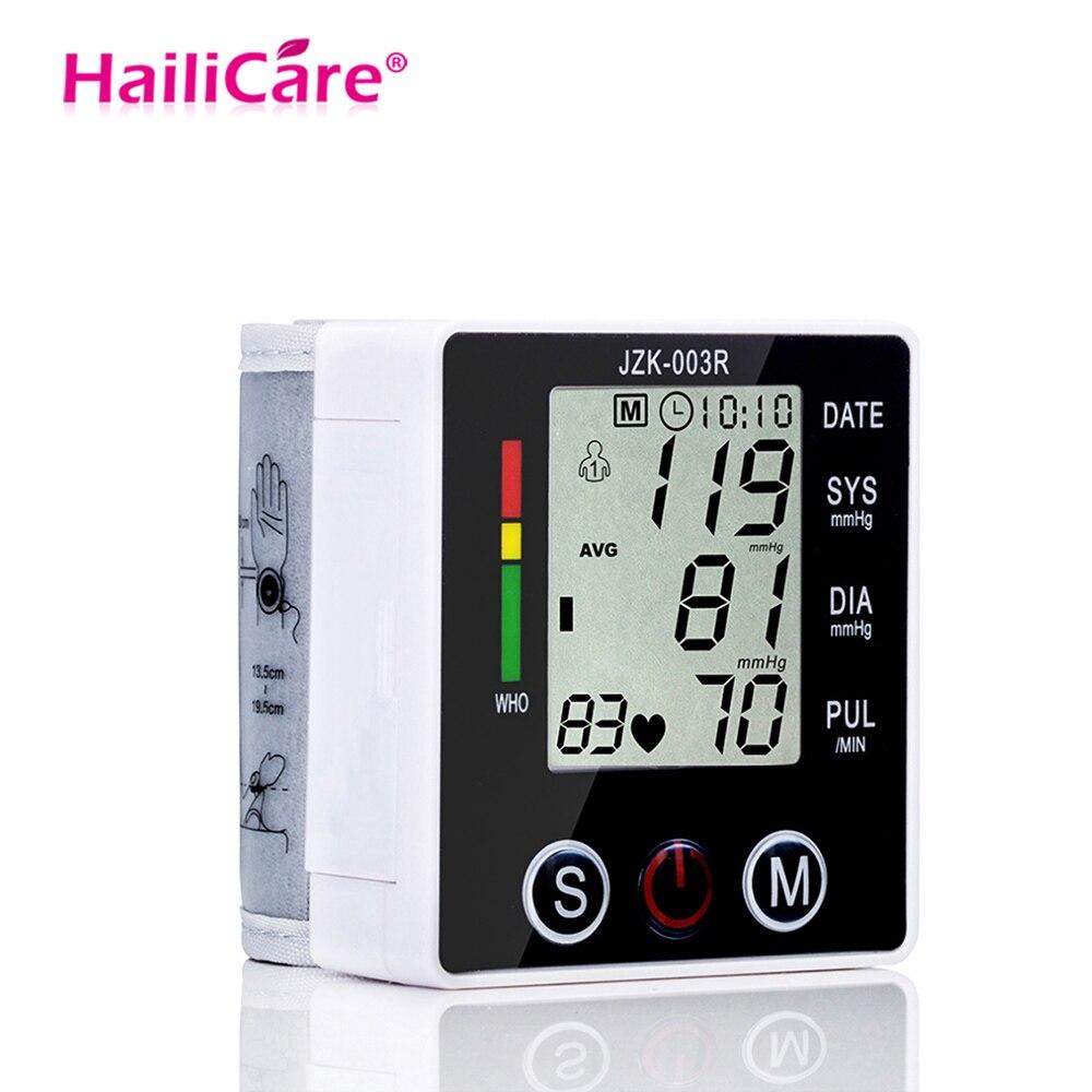 MüHsam Blutdruck Monitor Tonometer Gesundheit Pflege Chip Automatische Handgelenk Digitale Lcd Blutdruckmessgerät Tragbare Blutdruck Meter Rheuma Lindern Blood Pressure