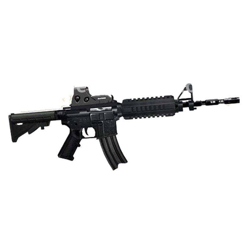 DIY Paper Model 85cm M4a1 Assaults Gun  3D Paper Craft Can Not Launch Handmade Toy For Boy Girl Gift