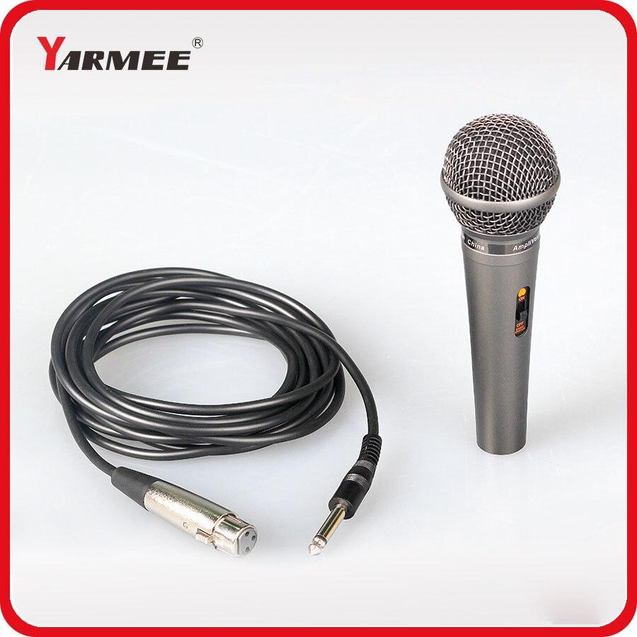 wholesale low price dynamic handheld karaoke microphone black microphone ym58 in microphones. Black Bedroom Furniture Sets. Home Design Ideas