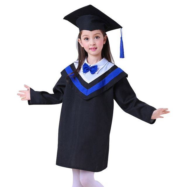 d992e358636 Girl Kindergarten Graduated Suits Dr Children School Academic Clothing  Dress Boy Boys Kindergarten Graduation Clothing For