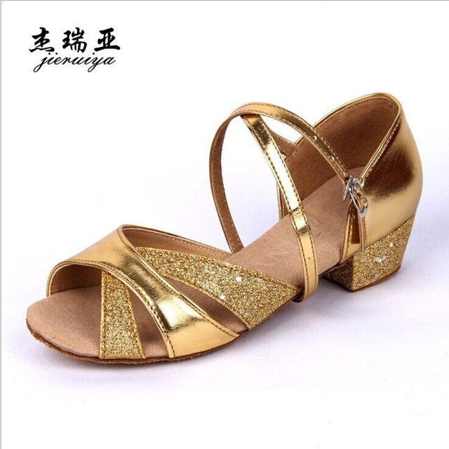Горячая детей латинской девушка танцы обувь бесплатная доставка S14102101