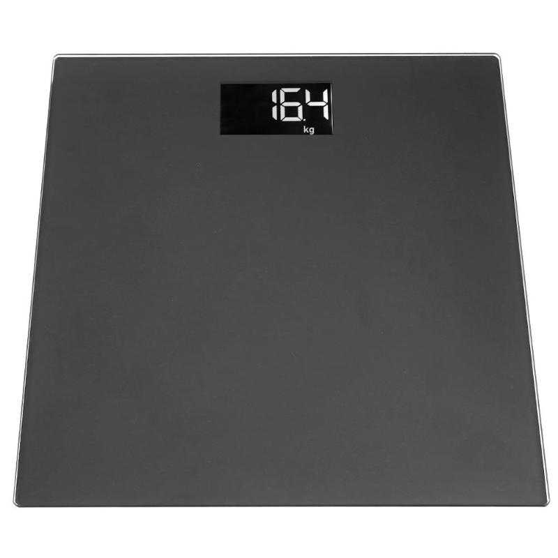 180kg Digital Bathroom Body Fat Scale Scales Gym Weight Water Glass LCD Electronic Body Scale