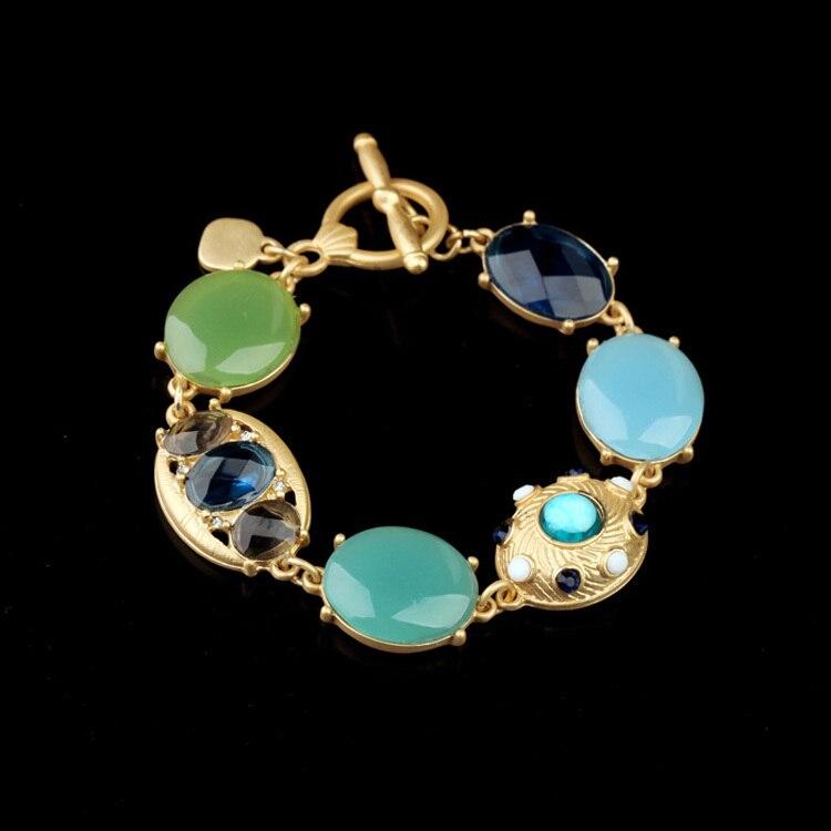 Novi Dolazak Nakit Shiny Gem Stone Visokokvalitetne narukvice u boji - Modni nakit - Foto 6