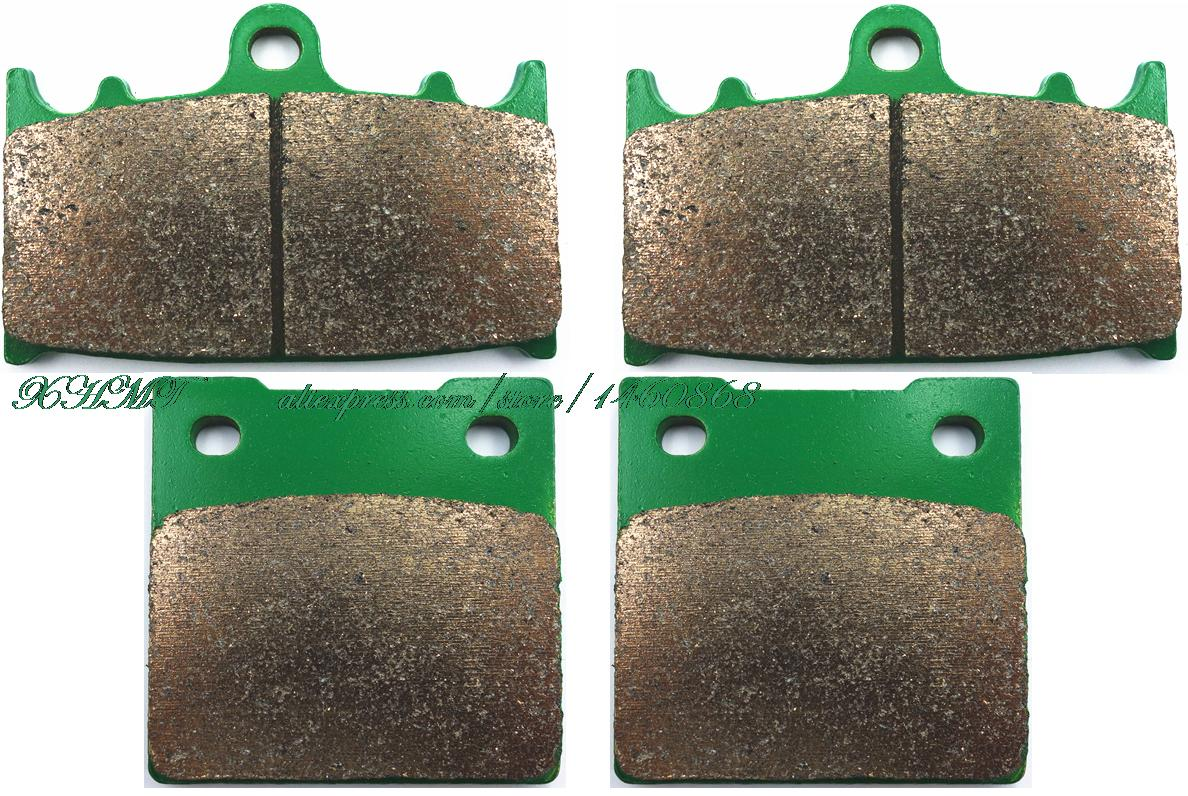 Brake Shoe Pads Set For Suzuki Gsf400 Gsf 400 S Katana 1989 1990 /Gsx-R400 Gsxr Gsx-R 400 ( V ) 1989 1990