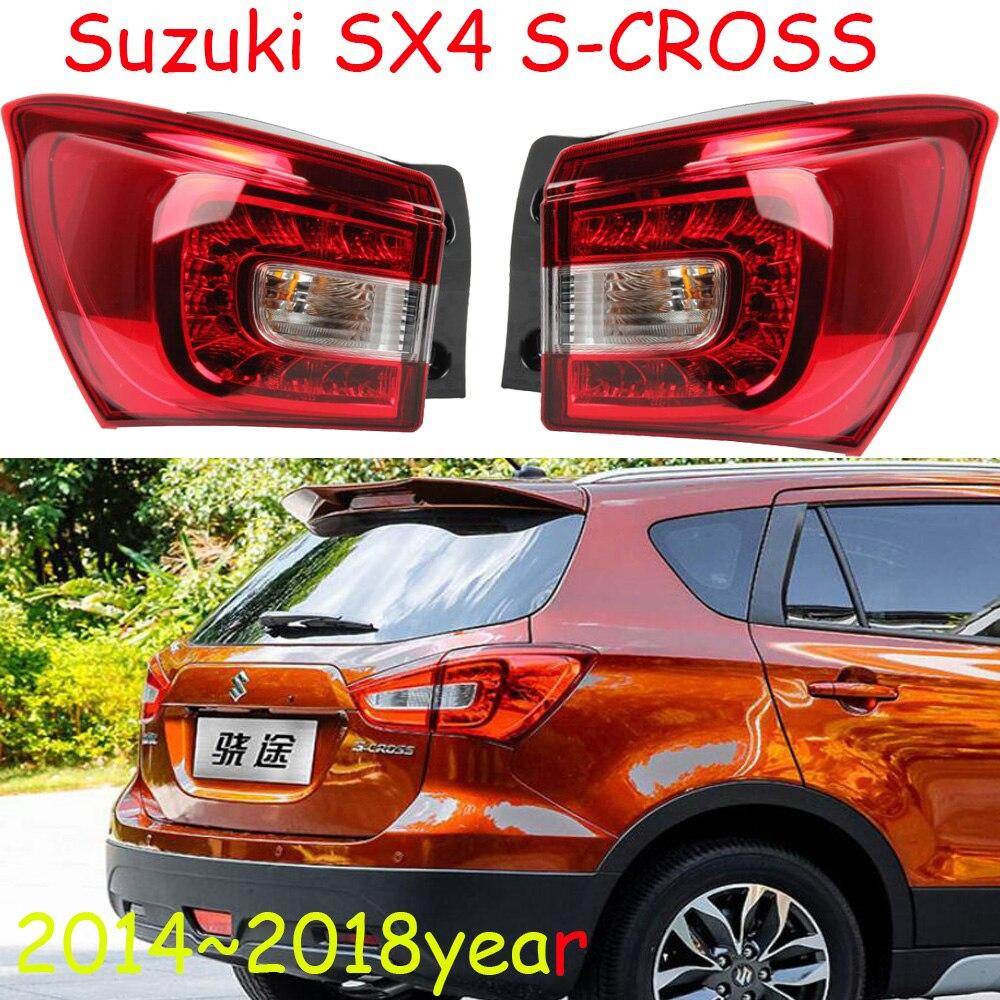 1 pièces voiture style pour Suzuki SX4 S-CROSS feux arrière sx 4 LED 2014 ~ 2018 S croix voiture accessoires SX4 S-CROSS feu arrière