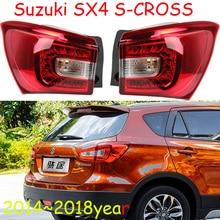 1 шт стайлинга автомобилей для Suzuki SX4 S-CROSS задние фонари sx 4 светодиодный 2014 ~ 2018 S Крест автомобильные аксессуары SX4 S-CROSS задний фонарь задний лампа