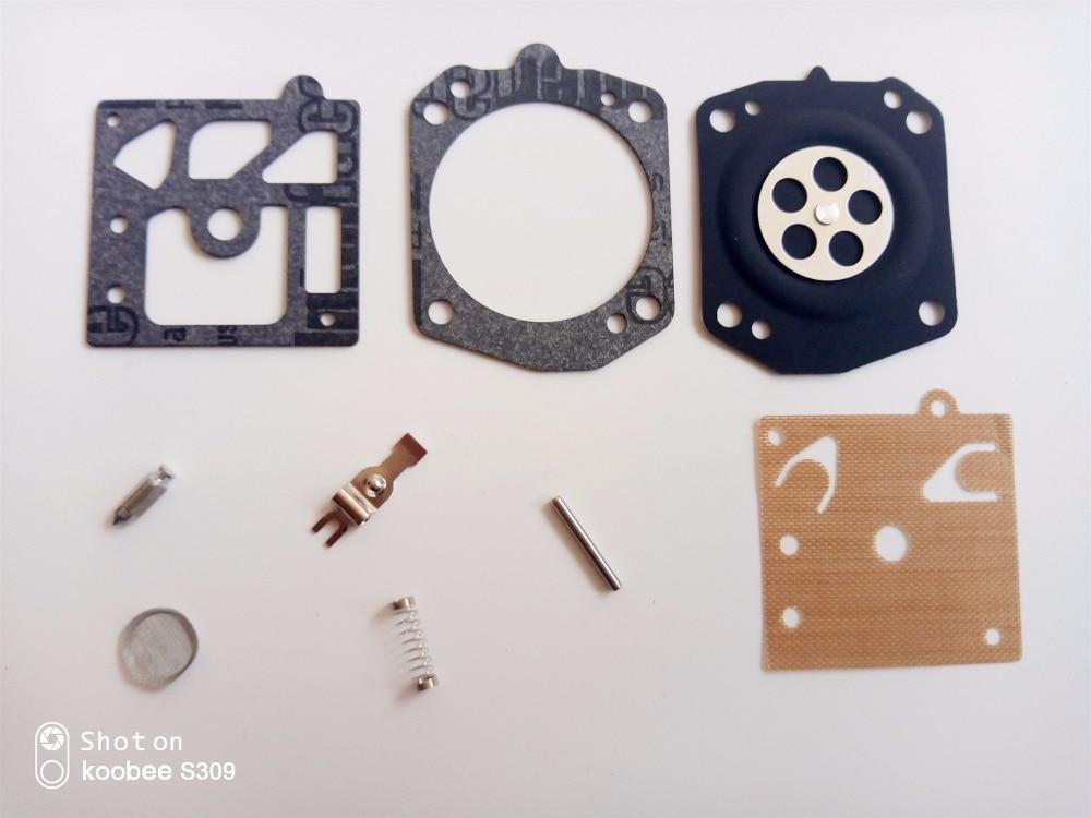 Homelite 650 750 FP100 Walbro K10-WB Carburetor Gasket Repair Diaphragm Part Kit