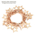 Neoglory Fashion Jewelry Gold Plated Full of Stars Design Bracelets & Bangles for Female New 2017 Best Gift Elegant Go1