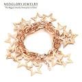 Neoglory Fashion Jewelry Gold Plated Full of Stars Design Bracelets & Bangles for Female New 2017 Best Gift Elegant Go1