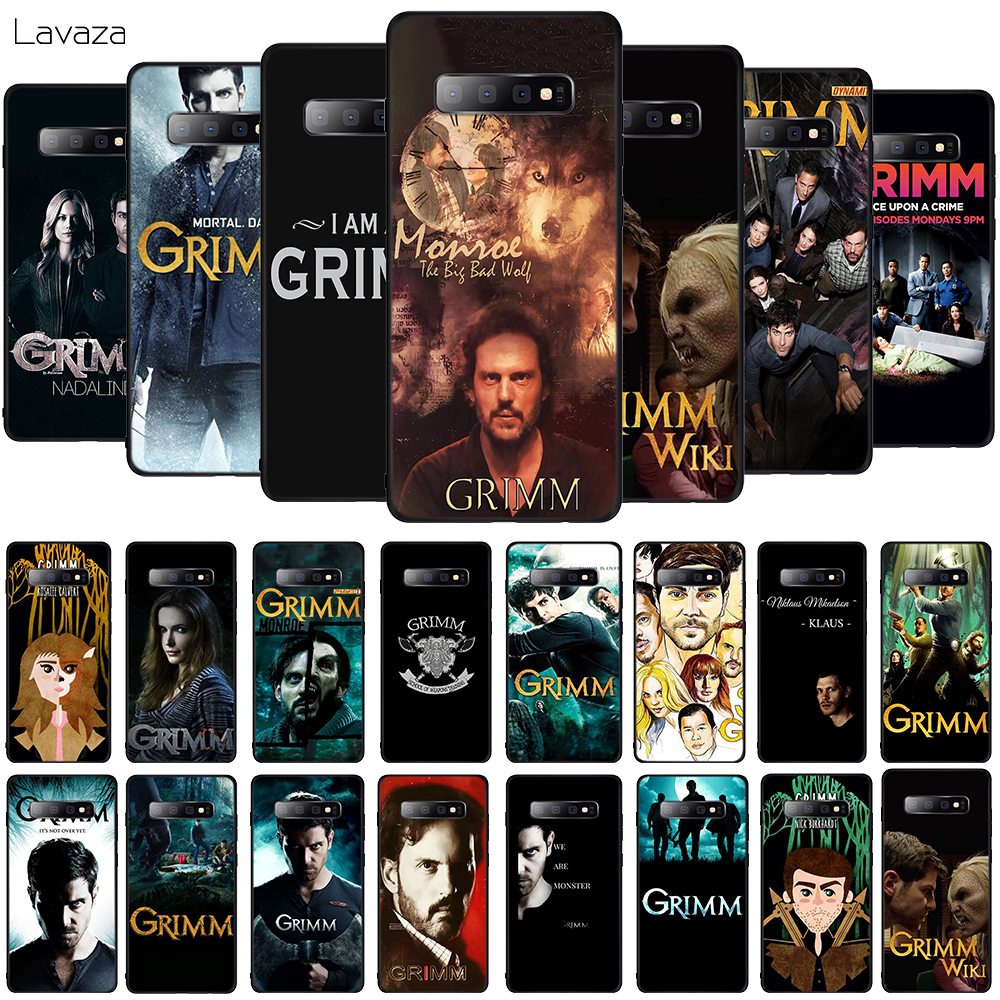 Lavaza Grimm Soft Phone Cover for Samsung Galaxy S8 S9 S10 Plus A6 A8 A9 2018 A30 A50 TPU Case