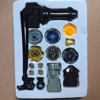 With Original Package 1set Beyblade Metal Fusion 4D Launcher Beyblade Spinning Top Set Kids Game Toys
